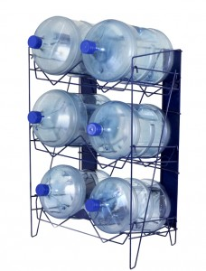 6 Bottle Stand Blue